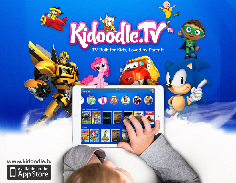 Enjoying Kidoodle.TV on iOS