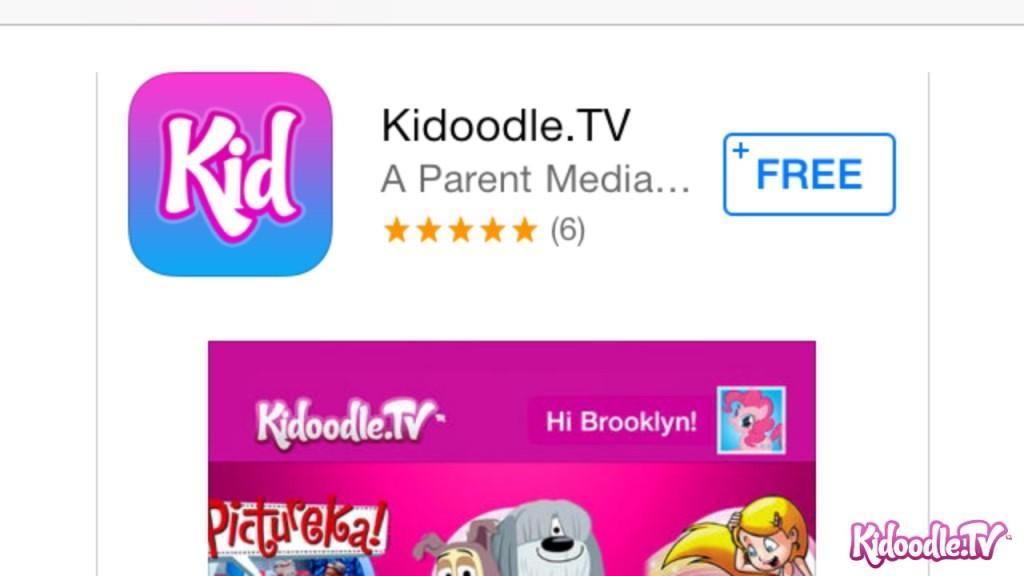 Kidoodle App Screen