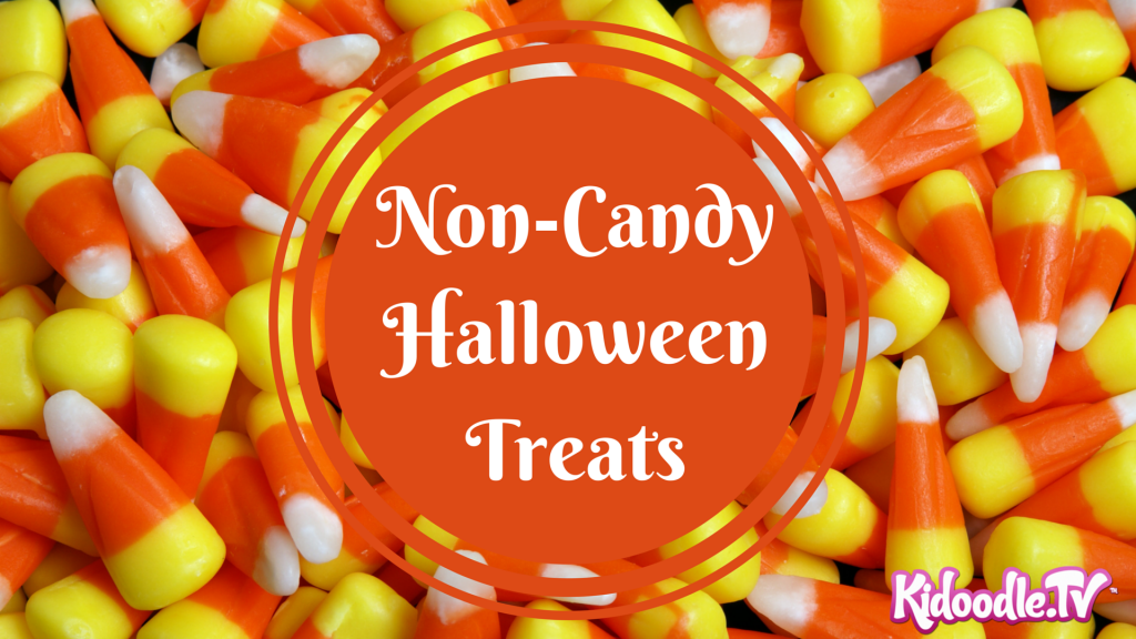 Non-Candy Halloween Treats - KidoodleTV Blog