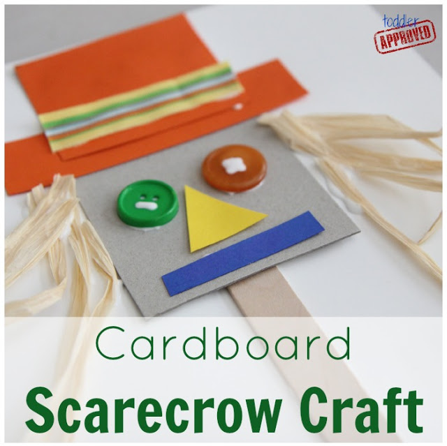 cardboard scarecrow craft 2