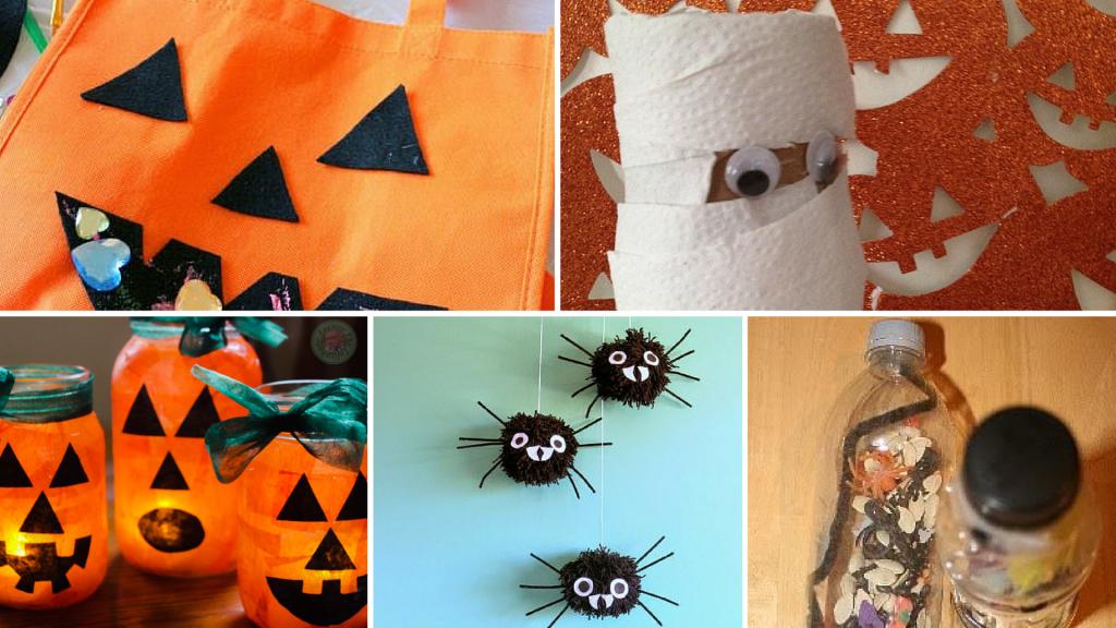 Fun Halloween Kids Crafts