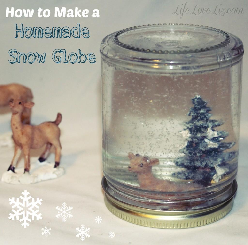 Diy christmas decorations for kids to make kidoodle tv for Easy homemade christmas snow globes