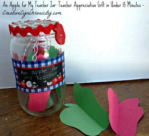 Apple Teacher Gift