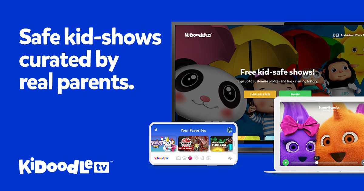Kidoodle TV - TV Built for Kids, Loved by Parents