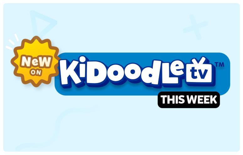 Kidoodle New This Week - Aug 2021